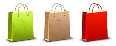 Бумажный пакет - стильная сумка для совершения покупок