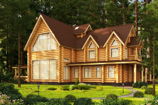 Деревянный дом: современный и на века!