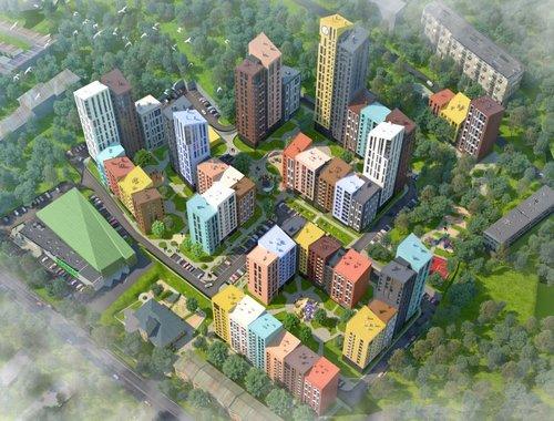 Микрорайон Семицвет во Львове