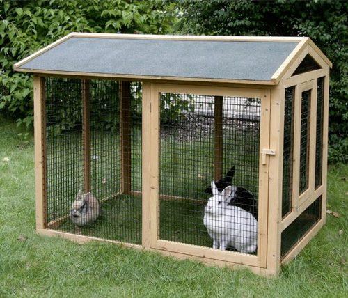 Клетки для содержания кроликов на открытом воздухе